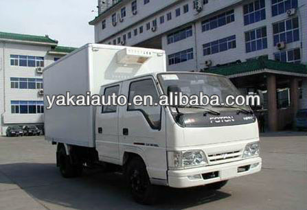 Reefer /refrigerated cooling box van manufacture