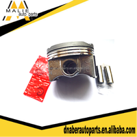 Aluminum pistons and components, 3B/C 13101-58050 auto motor pistons in cylinder, custom forged pistons