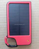 (Good Price) Mobile Solar Charger 5050mAh Portable Solar Power Bank with LED Light, Key Chain Solar Charger 5050mAh for Gift