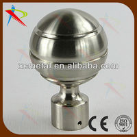 Xincheng curtain hardware offers silver curtain rod finials