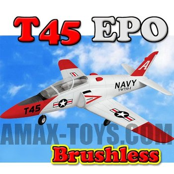 ep-tw750-1 2.4G 4CH T45 EPO toy model rc plane jet engine model airplane