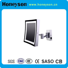Hotel bathroom electric accessories wall mount movable mirror