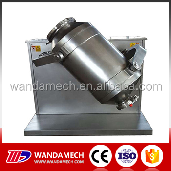 Stainless steel industrial coffee mixer drum type blending machine