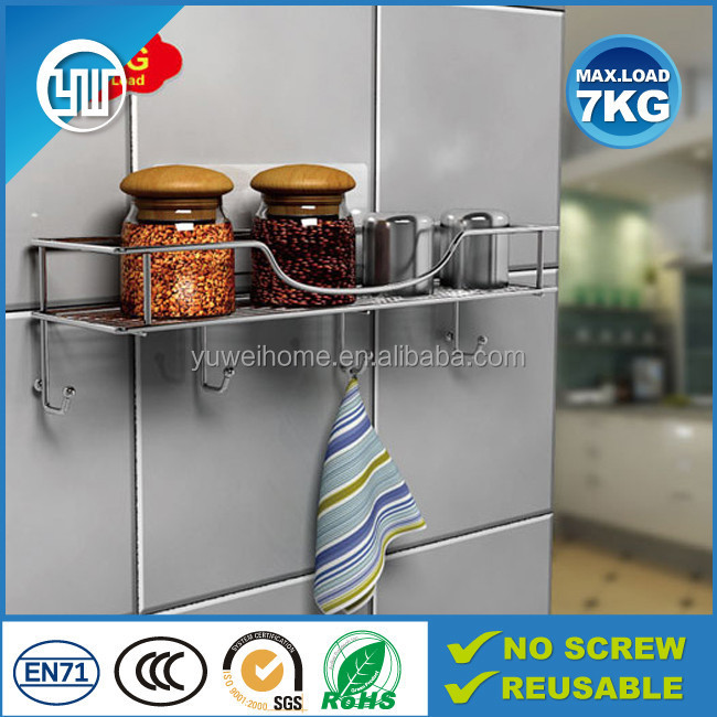 2015 New products rust-proof metal storage shelf, kitchen spice rack