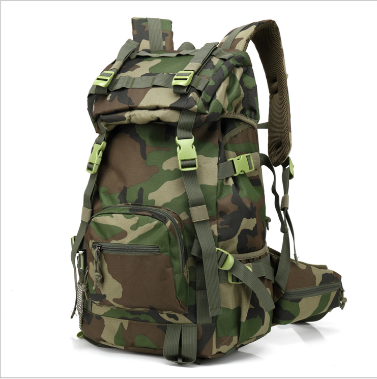 Water repellent wholesale 500D waterproof camouflage nylon fabric for bags