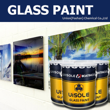 high adhesive liquid spray paint for glass / clear white black glass coating lacquer