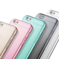 Ultra Thin Clear Crystal Rubber TPU Silicone Soft Case For iPhone 6 / 6s /4.7 inch