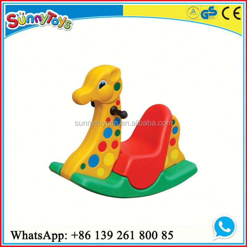 Indoor play center rocking toys giraffe kids car toy rider
