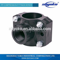 China High quality cpvc fittings Pipe Fittings saddle clamp CPVC ASTM D2846