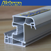 upvc window thailand, linear upvc window profile, pvc window profile