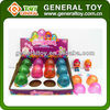 plastic egg with toy inside / surprise egg toy with mini doll