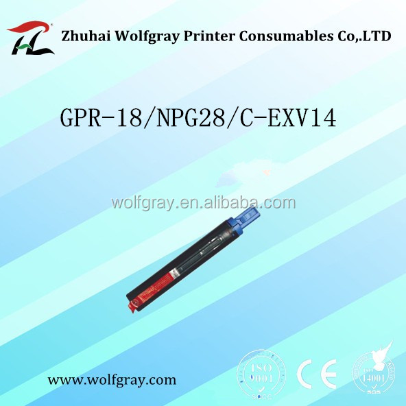 For Canon perputhje toner GPR-18/NPG28/C-EXV14 toner cartridge