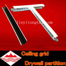 ceiling t-bar grid /aluminum suspended ceiling grid/suspended ceiling metal grids