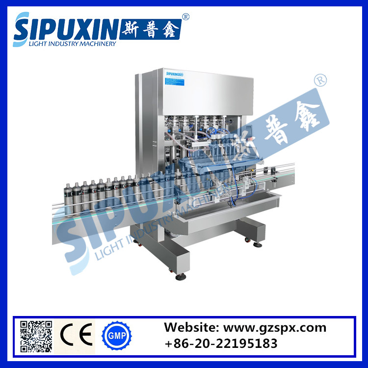 Sipuxin Automatic Grade Liquid Filling Machine / Beverage filling Machine for mineral water milk, juice,sode, beer