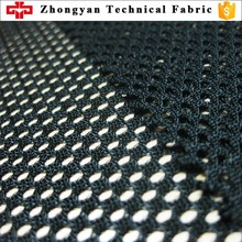Polyester 150gsm warp mesh net backpack air mesh fabric