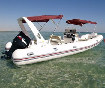 Rigid inflatable boating Top line
