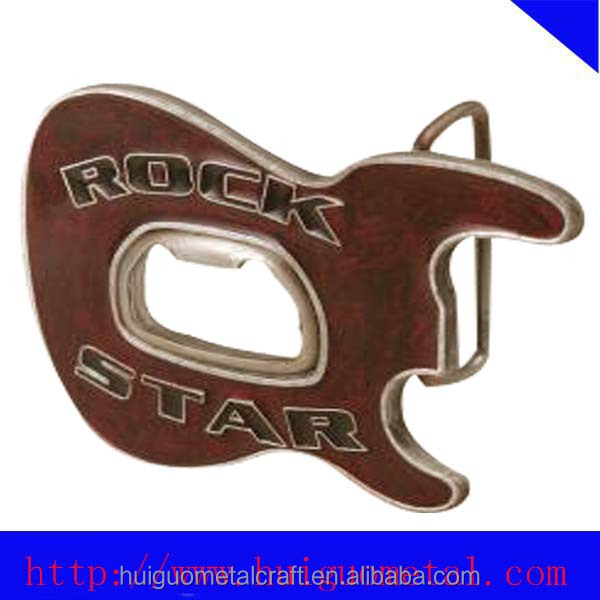 Fashion belt buckle with bottle opener