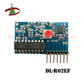 color circle and hollow inductance RF Receiver Module