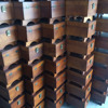 Wooden Shoe Accessories Storage Boxes