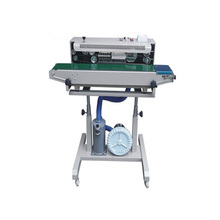 DBF-1000 Auto Gas air -flushing Continuous Band Plastic Bag and Film Sealer/sealing machine
