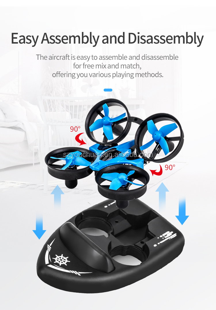 JJRC H36F Mini Drone RC Drone Quadcopters Headless Mode One Key Return RC Helicopter VS JJRC H8 Mini H20 Dron Best Toys For Kids