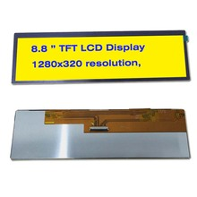 8.8 inch TFT LCD 1280X320 pixels ultra wide bar LCD