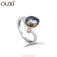 OUXI 925 sterling silver rings for sale Y70015