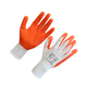 Wholesale cheap crinkle latex work safety gloves