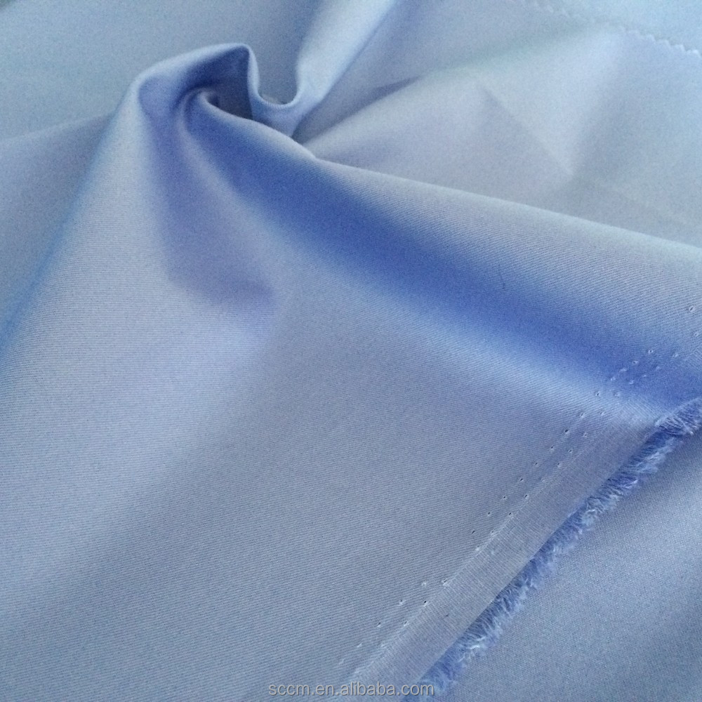 dyeing and bleach poplin 1/1 fabric for shirts