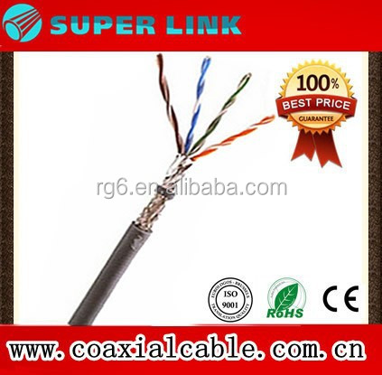 Superlink Vietnam Market Shield CAT 5E 4 Pair digital communication cable