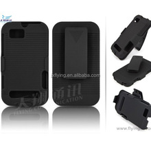 rubber surface hard plastic case for Motorola xt320 defy mini