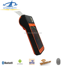 HF-FP09 Cost Effective Android MTK6753 Mobile POS Terminal Mobile Phone Wireless Barcode Biometric Fingerprint Scanner