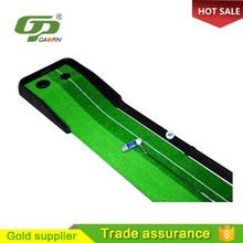 Professional high quality portable golf practice mat/golf putting green golf mat