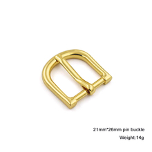 Custom zinc alloy metal pin belt buckle for handbag