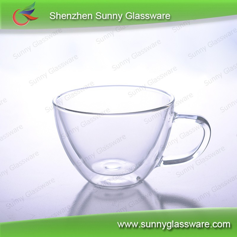 Popular high quality borosilicate glass cold water pitcher