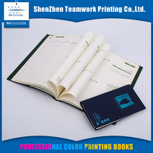 Global books print Wire-o binding Glossy or matt lamination nice hardcover notebooks