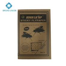 Fly Trap Paper Glue Sticky Fly Paper
