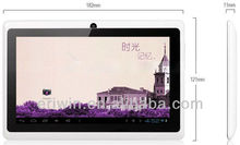 ZX-MD7001 Super slim 7 inch capacitive touch android 4.0 tablet pc