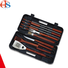 BBQ Set Outdoor Grilling Kits with Plastic Case for Camping Activity