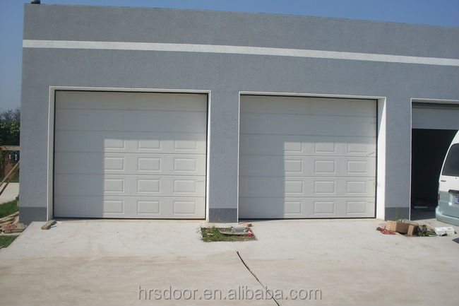 China supplier cheap sectional garage door panels sale