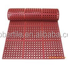 anti-slip leaf rubber mat