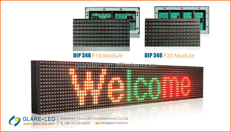 Outdoor waterproof advertising led letters/numbers sign