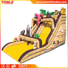 Animal World Inflatable slide/Animal Slide/kids party Slide