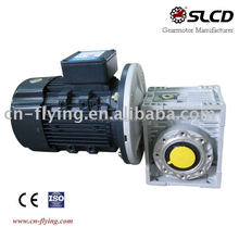 alloy aluminium worm gearmotor for fully automatic babana chips machine