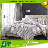 Home Textile Bed Linen 100 Percent Egyptian Cotton Sheet Set