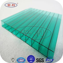 china uv coated polycarbonate for sale; polycarbonate hollow sheet