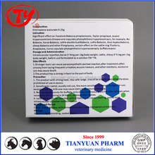 Veterinary parasite powder inj Diminazene aceturate 1g with GMP
