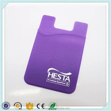 Hot sale Silicone credit card holder hybrid rubber case holder for phone