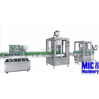 MIC-12-12-1hot sale cheap beer bottle filling machine wine bottle filling machine cap press machine with ce