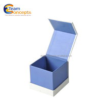 Magnetic Lid Glass Jewelry Case and Box